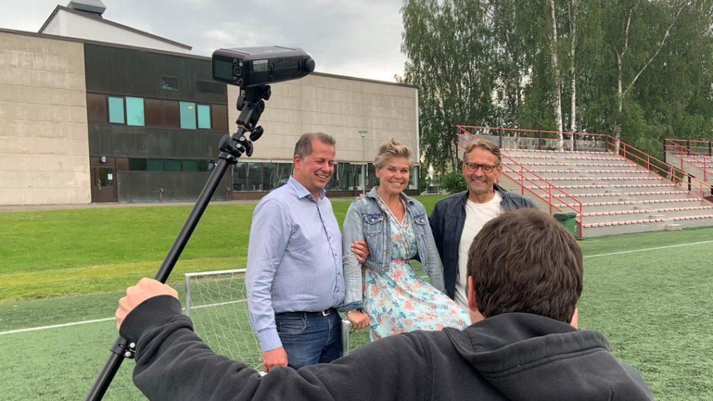 Kenneth Mörk, Nina Brännkärr-Friberg och Björn Anderssén.